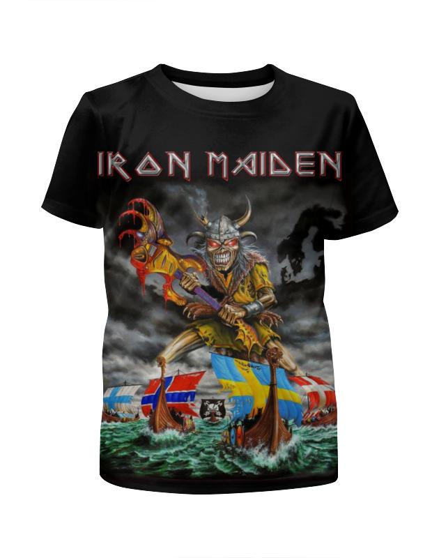 Футболка с полной запечаткой для мальчиков Printio Iron maiden band футболка с полной запечаткой для мальчиков printio stryper band
