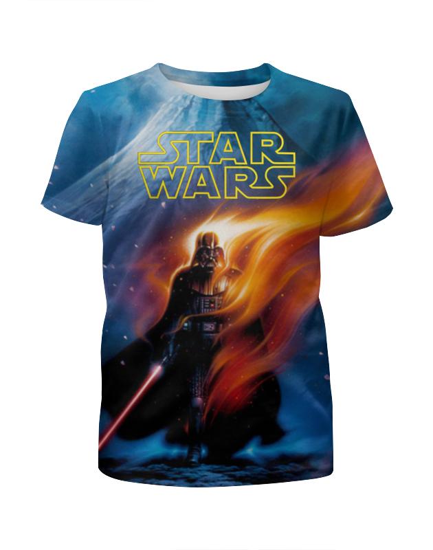 Футболка с полной запечаткой для мальчиков Printio Star wars футболка с полной запечаткой для мальчиков printio фруктовая
