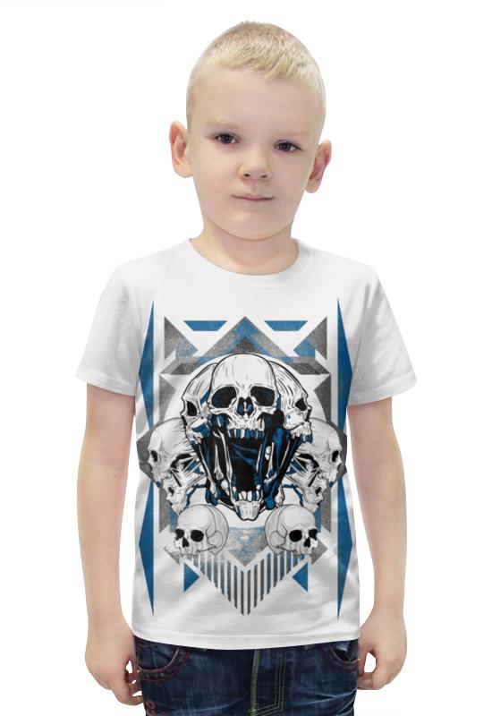 Футболка с полной запечаткой для мальчиков Printio Черепа футболка с полной запечаткой для мальчиков printio bats spawn arsb