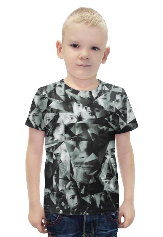 Футболка с полной запечаткой для мальчиков Printio Person футболка с полной запечаткой для мальчиков printio bats spawn arsb
