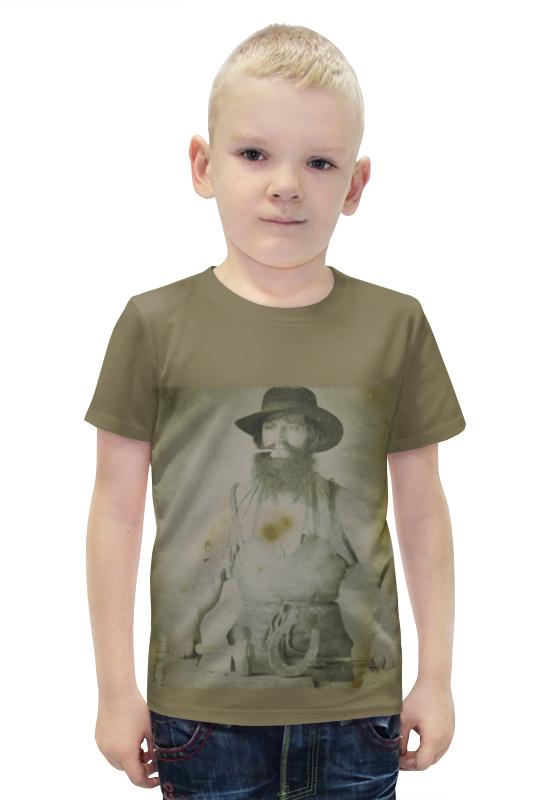 Футболка с полной запечаткой для мальчиков Printio Кузнец футболка с полной запечаткой для мальчиков printio bats spawn arsb