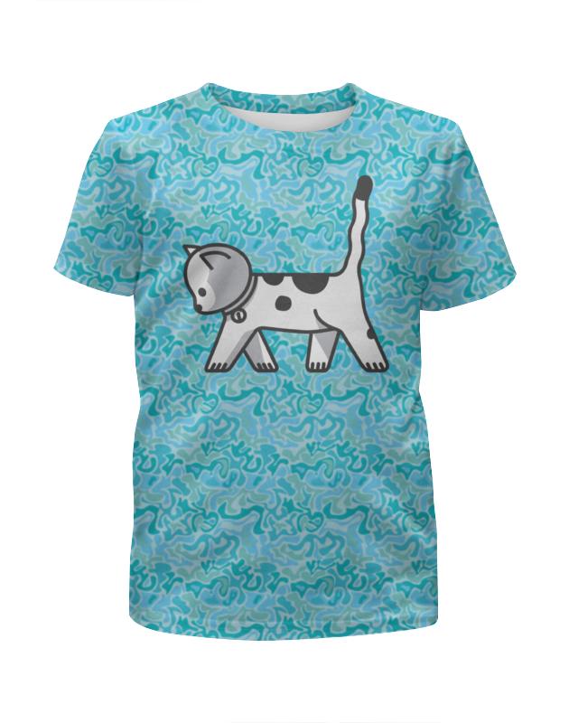 Футболка с полной запечаткой для мальчиков Printio Милый котёнок skylake рубашка для мальчика premium skylake