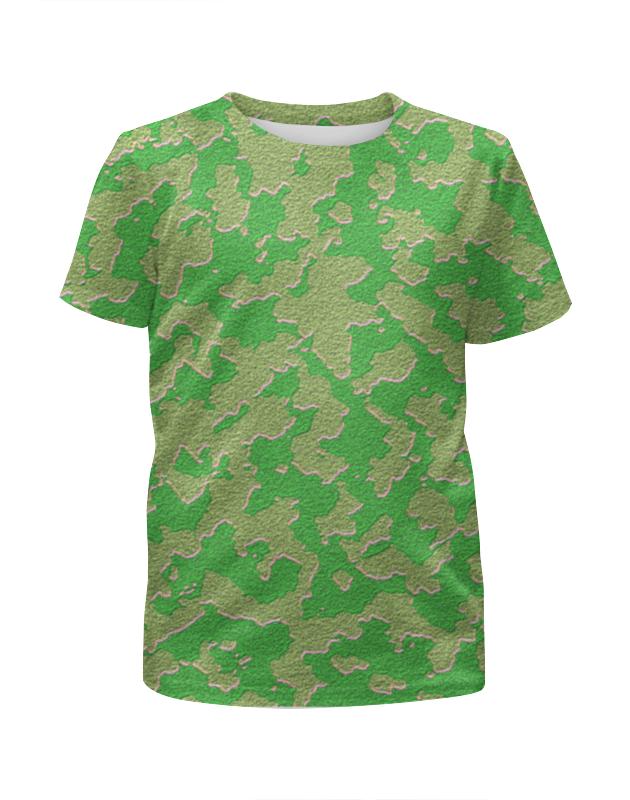 Футболка с полной запечаткой для мальчиков Printio Мультицвет камуфляж футболка с полной запечаткой для мальчиков printio фруктовая