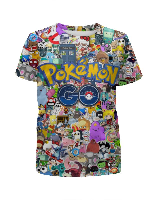 Футболка с полной запечаткой для мальчиков Printio Pokemon go футболка с полной запечаткой для мальчиков printio кошечка