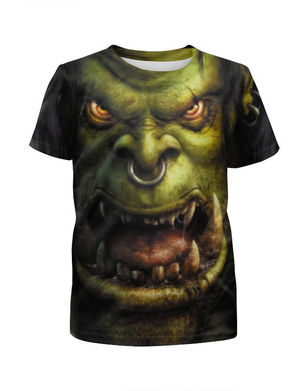 Футболка с полной запечаткой для мальчиков Printio Warcraft футболка с полной запечаткой для мальчиков printio кал оф дьюти call of duty игры