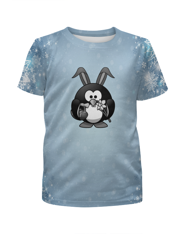 Футболка с полной запечаткой для мальчиков Printio Пингвин футболка с полной запечаткой для мальчиков printio поросята