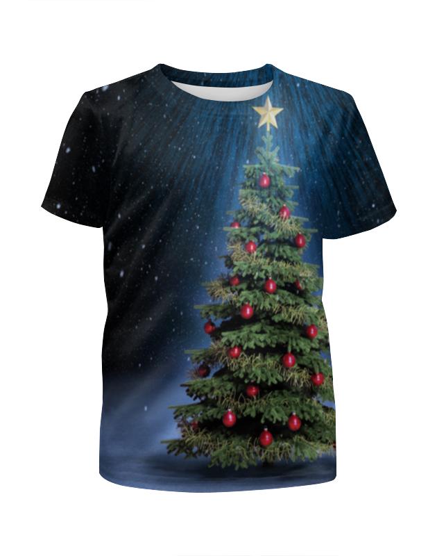 Printio Новогодний символ футболка с полной запечаткой для мальчиков printio новогодняя