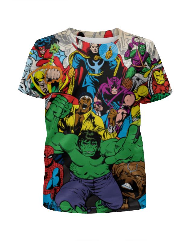 Футболка с полной запечаткой для мальчиков Printio Marvel heroes футболка с полной запечаткой для мальчиков printio фруктовая