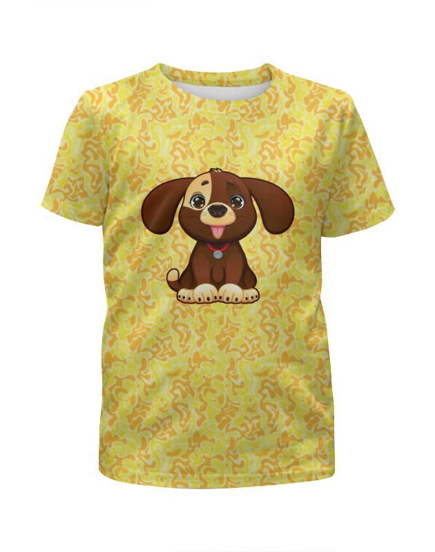 Футболка с полной запечаткой для мальчиков Printio Милая собачка футболка с полной запечаткой для мальчиков printio bats spawn arsb