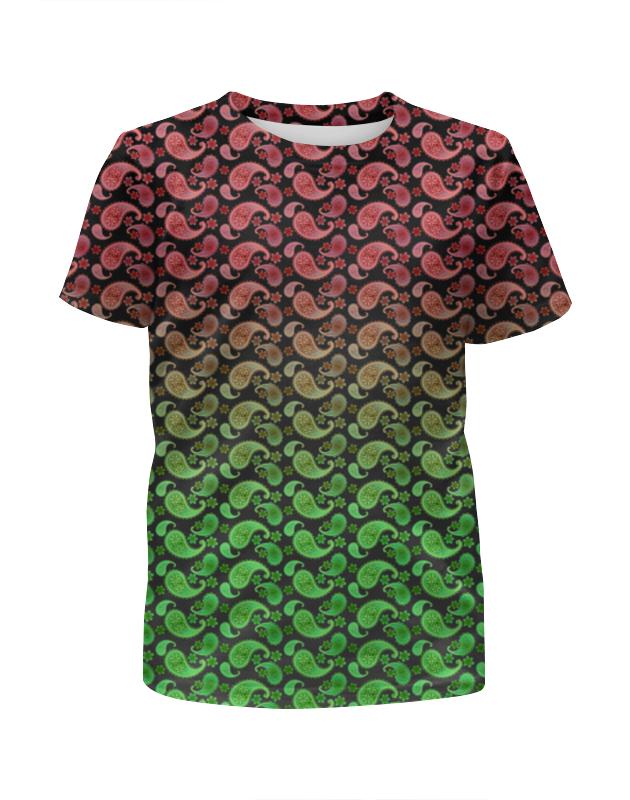 Printio Яркий контрастный узор для детей футболка с полной запечаткой для мальчиков printio яркий зеленый