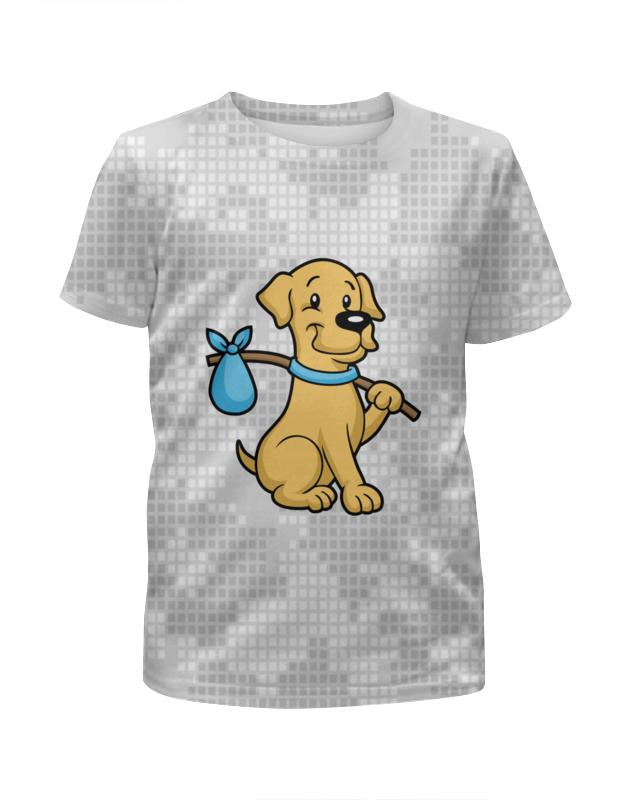 Футболка с полной запечаткой для мальчиков Printio Пёс-бродяга футболка с полной запечаткой для девочек printio пёс бродяга