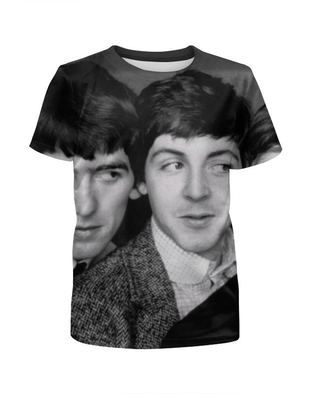 Футболка с полной запечаткой для мальчиков Printio Битлз (the beatles) футболка с полной запечаткой мужская printio битлз the beatles