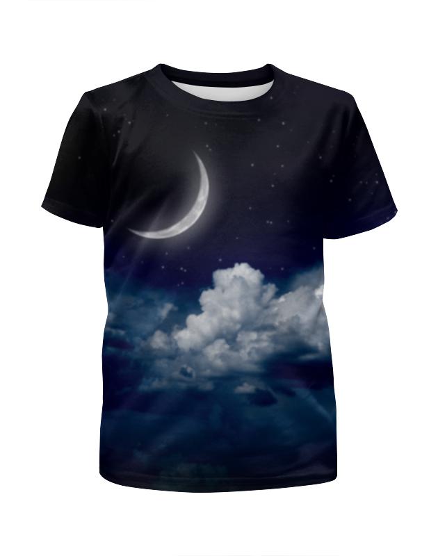 Футболка с полной запечаткой для мальчиков Printio Темная ночь футболка с полной запечаткой для мальчиков printio ночь всех святых