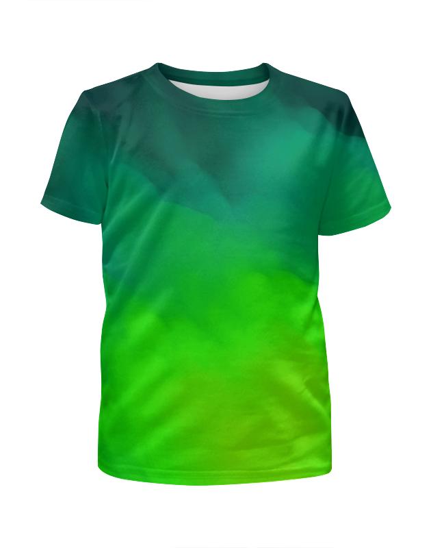 Футболка с полной запечаткой для мальчиков Printio Кислотные краски футболка с полной запечаткой для мальчиков printio bats spawn arsb