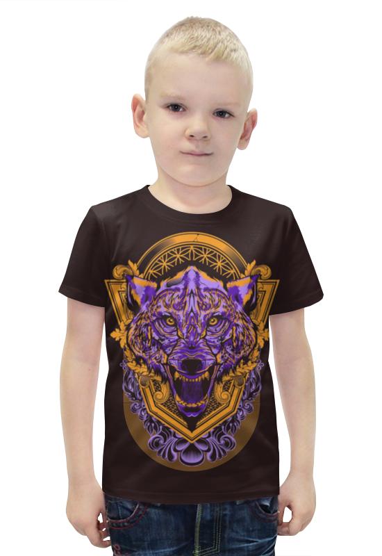 Футболка с полной запечаткой для мальчиков Printio Волчище футболка с полной запечаткой для мальчиков printio bats spawn arsb