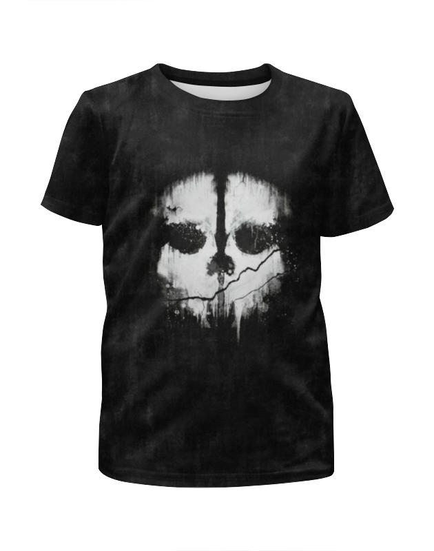 Футболка с полной запечаткой для мальчиков Printio Call of duty: ghosts футболка с полной запечаткой для мальчиков printio кал оф дьюти call of duty игры