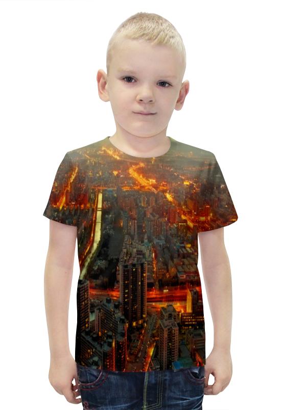 Футболка с полной запечаткой для мальчиков Printio China футболка с полной запечаткой для мальчиков printio bats spawn arsb