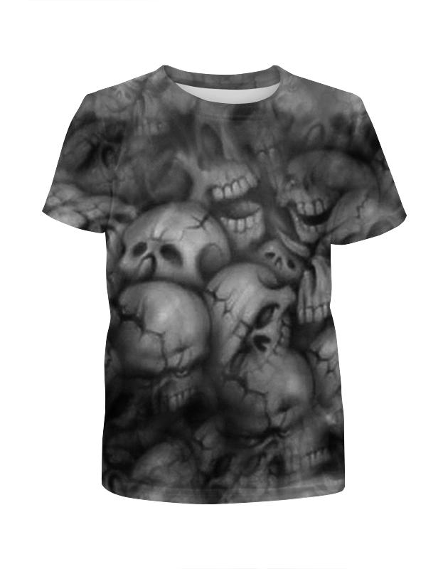 Футболка с полной запечаткой для мальчиков Printio Черепа футболка с полной запечаткой для мальчиков printio отпечаток в виде черепа
