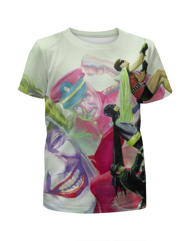 Футболка с полной запечаткой для мальчиков Printio Бэтмен футболка с полной запечаткой для девочек printio batman x joker бэтмен