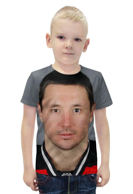 цена Футболка с полной запечаткой для мальчиков Printio Илья ковальчук онлайн в 2017 году