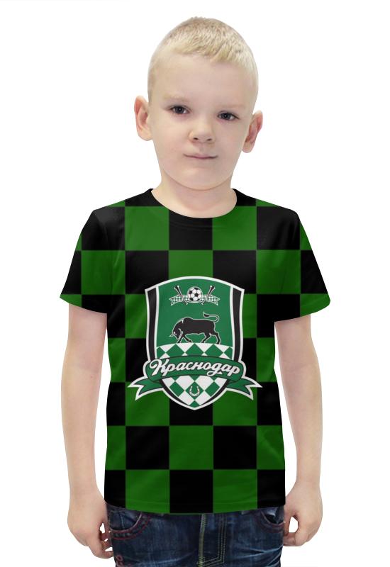 Футболка с полной запечаткой для мальчиков Printio Краснодар пфк