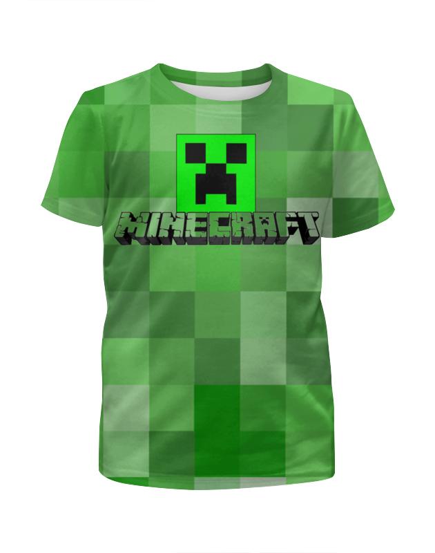 Футболка с полной запечаткой для мальчиков Printio Майнкрафт футболка с полной запечаткой для мальчиков printio warlock