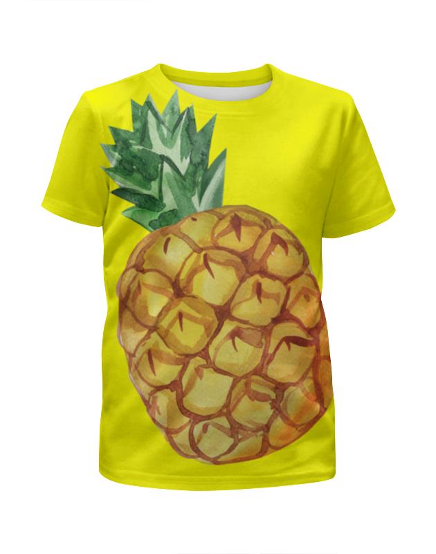 Футболка с полной запечаткой для мальчиков Printio Ананас футболка с рисунком ананас 100