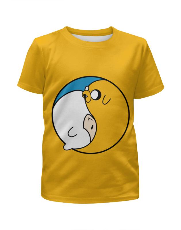 Футболка с полной запечаткой для мальчиков Printio Adventure time / время приключений футболка стрэйч printio время приключений adventure time