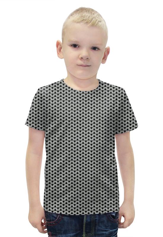 Футболка с полной запечаткой для мальчиков Printio Кольчуга футболка с полной запечаткой для мальчиков printio bats spawn arsb