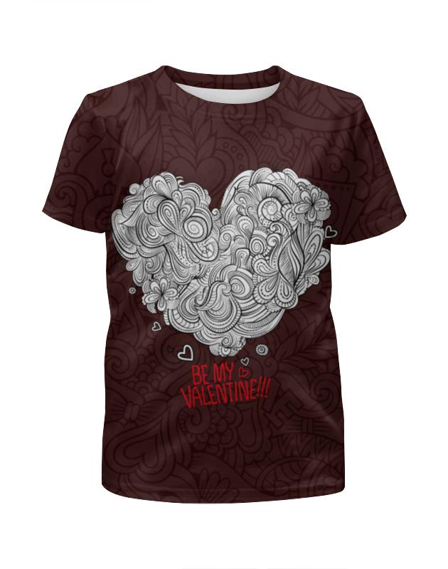 Футболка с полной запечаткой для мальчиков Printio Valentine's day футболка с полной запечаткой для мальчиков printio ночь всех святых