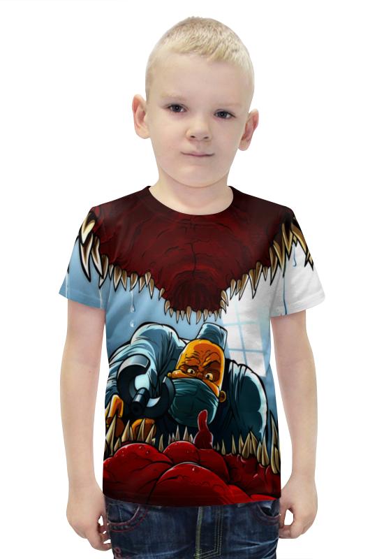 Футболка с полной запечаткой для мальчиков Printio Доктор футболка с полной запечаткой для мальчиков printio slove arsb