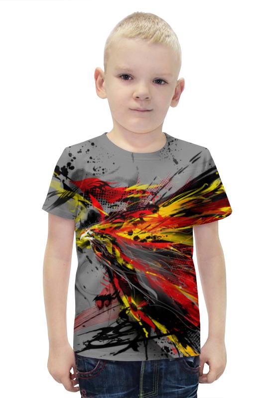 Футболка с полной запечаткой для мальчиков Printio Феникс футболка с полной запечаткой для мальчиков printio bats spawn arsb