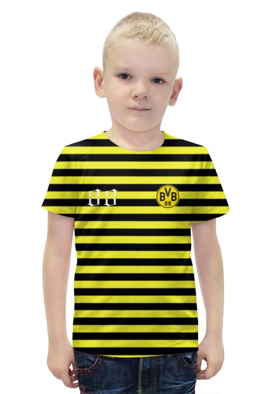 Футболка с полной запечаткой для мальчиков Printio Bvb09 футболка с полной запечаткой для мальчиков printio bats spawn arsb