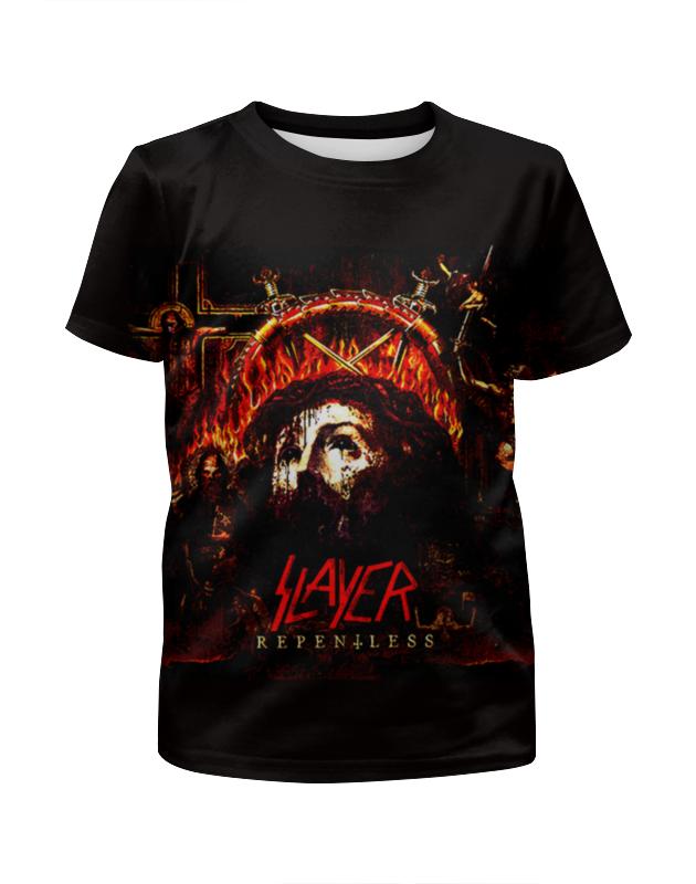 Футболка с полной запечаткой для мальчиков Printio Slayer repentless 2015 (2) комплект одежды для мальчиков brand 2015 81
