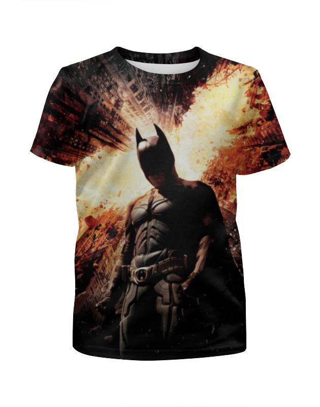Футболка с полной запечатк��й для мальчиков Printio Бэтмен футболка с полной запечаткой printio х у й ё б