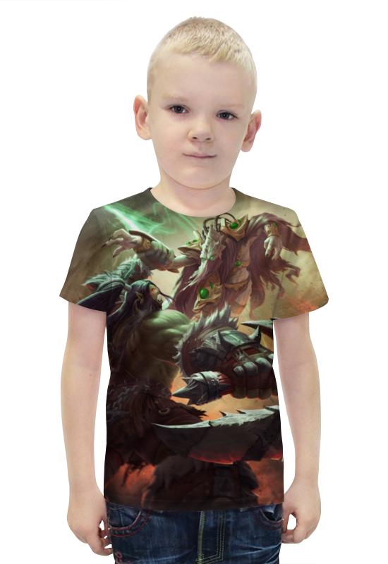 Футболка с полной запечаткой для мальчиков Printio Blizzard футболка с полной запечаткой для мальчиков printio bats spawn arsb