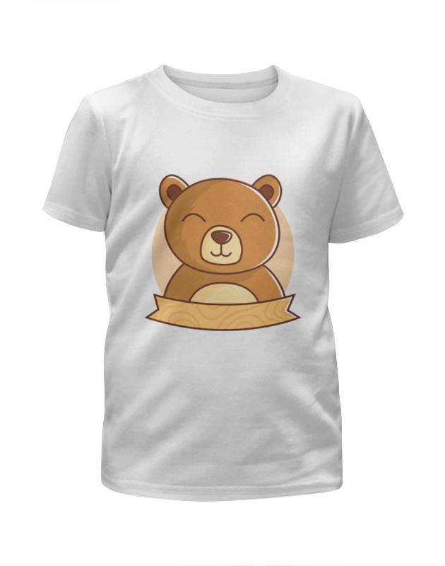 Футболка с полной запечаткой для мальчиков Printio Спящий медвежонок футболка с полной запечаткой для мальчиков printio slove arsb