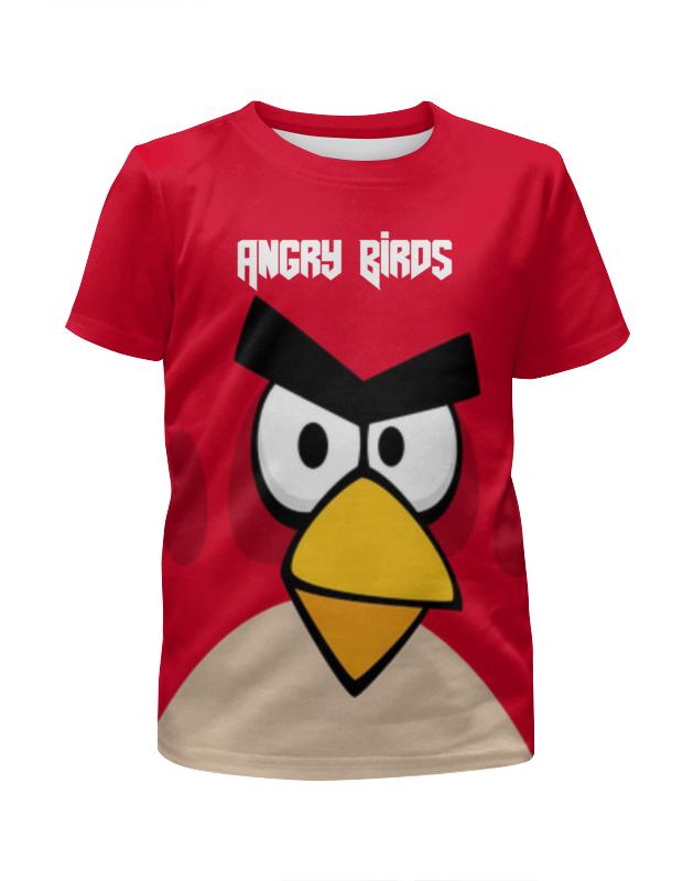Футболка с полной запечаткой для мальчиков Printio Angry birds (terence) футболка с полной запечаткой женская printio angry birds terence