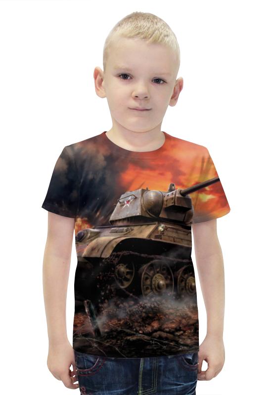 Футболка с полной запечаткой для мальчиков Printio Русский танк непобедим вячеслав ликсо стрелковое оружие великой отечественной войны