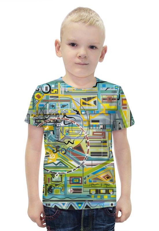 Футболка с полной запечаткой для мальчиков Printio Березка футболка с полной запечаткой для мальчиков printio bats spawn arsb