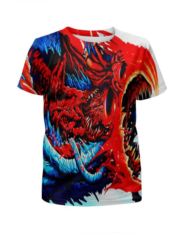 Футболка с полной запечаткой для мальчиков Printio Cs go :hyper beast red полусапоги mon ami mon ami mo151awgbs38