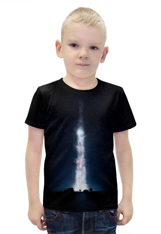 Футболка с полной запечаткой для мальчиков Printio Интерстеллар футболка с полной запечаткой для мальчиков printio bats spawn arsb