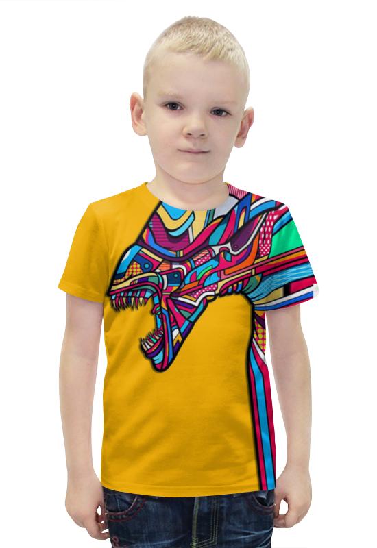 Футболка с полной запечаткой для мальчиков Printio Alien футболка с полной запечаткой для мальчиков printio bats spawn arsb