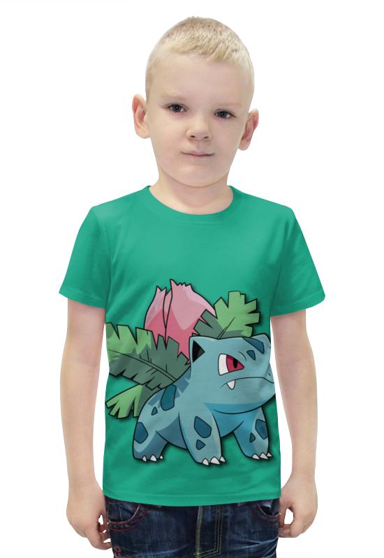 Футболка с полной запечаткой для мальчиков Printio Ивизавр футболка с полной запечаткой для мальчиков printio bats spawn arsb