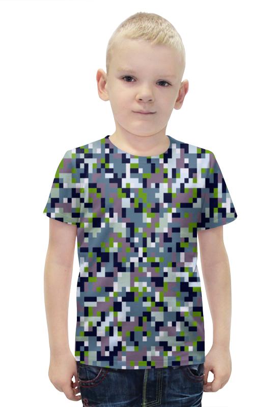 Футболка с полной запечаткой для мальчиков Printio Кубики футболка с полной запечаткой для мальчиков printio bats spawn arsb