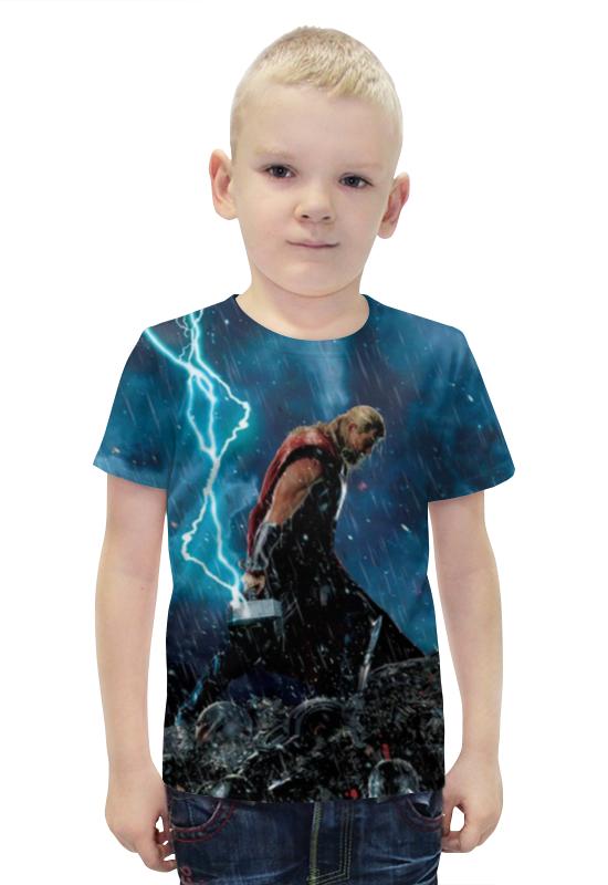 Футболка с полной запечаткой для мальчиков Printio Marvel футболка с полной запечаткой для мальчиков printio bats spawn arsb
