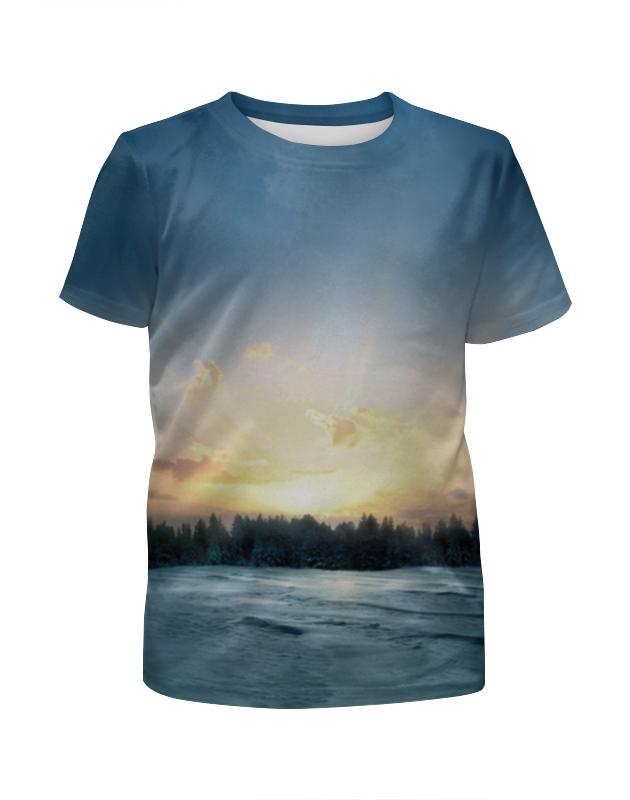 Футболка с полной запечаткой для мальчиков Printio Сумерки футболка print bar сумерки рассвет