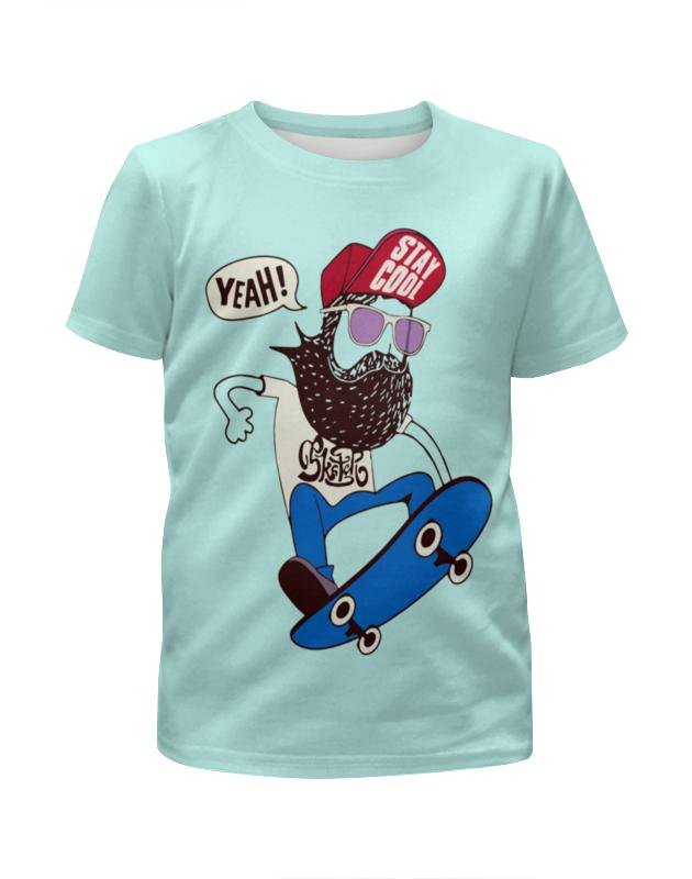 Printio Скейтер с бородой