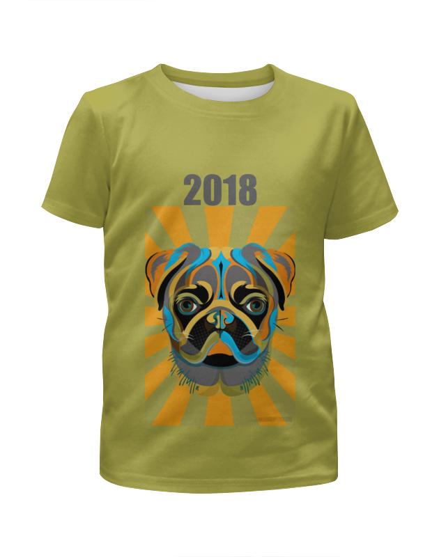 Футболка с полной запечаткой для мальчиков Printio Год собаки футболка с полной запечаткой для мальчиков printio новый год 2016