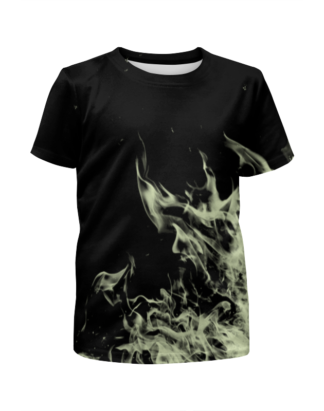 Футболка с полной запечаткой для мальчиков Printio Огненный футболка с полной запечаткой для мальчиков printio braaaaatnsssss